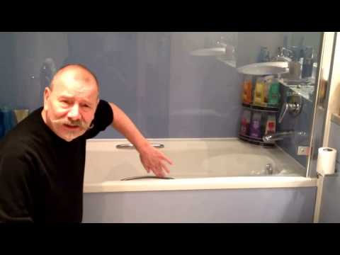How To ... Change The Shower Glass Seal