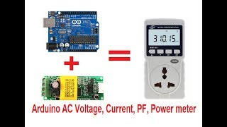 Easy measure of any AC voltage with Arduino and ZMPT101B (up