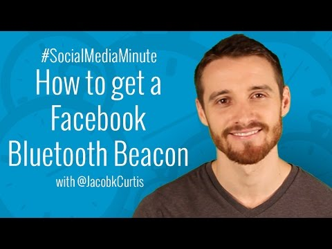 [HD] How to get a Facebook Beacon for your Local Business - #SocialMediaMinute