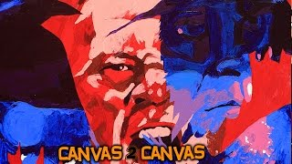 The Phenom and The Beast hit the canvas: WWE Canvas 2 Canvas