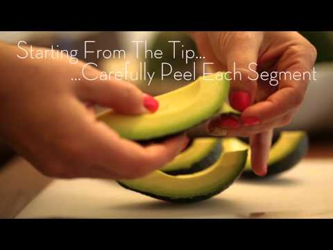 How to Cut and Peel an Avocado