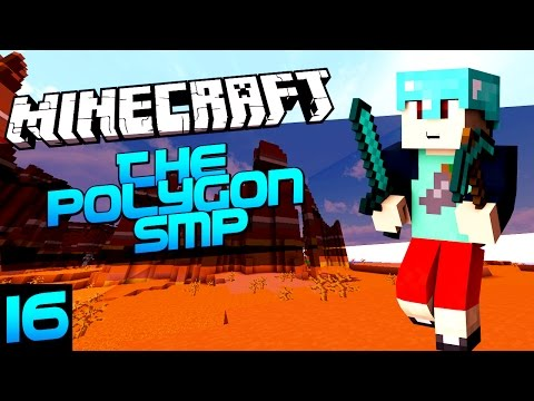 Minecraft 1.8: The Polygon SMP w/ Facecam #16 - PRANKING POISON & The MESA BIOME (Minecraft 1.8 SMP)