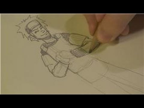 How to Draw Anime, Manga and Cartoons : How to Draw Your Own Custom Naruto Character