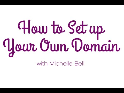 How to Set Up Your Own Domain Name