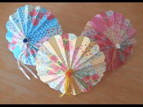 DIY for Barbie - Making A Paper Umbrella