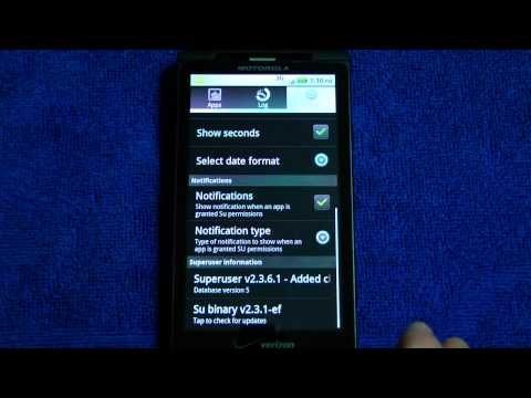 How to Root Droid X