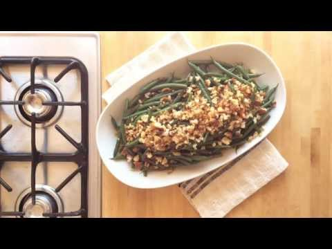 How to Make a Meyer Lemon Crumb Topping for Green Beans | Sunset