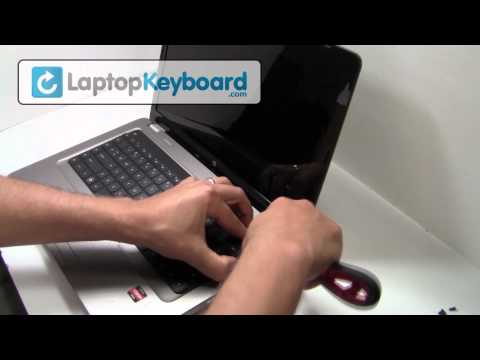 HP Compaq Keyboard Installation G62 CQ56 Guide - Remove Replace Install Pavilion Laptop G72 CQ72