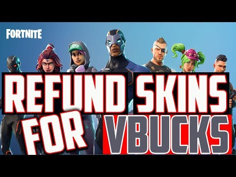 How to Refund Skins for Vbucks - MUST Know Tip!