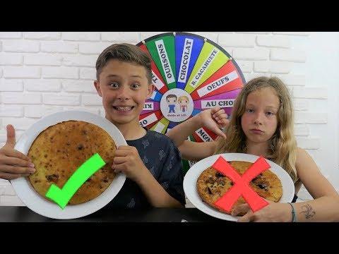 MYSTERY WHEEL OF CAKE CHALLENGE