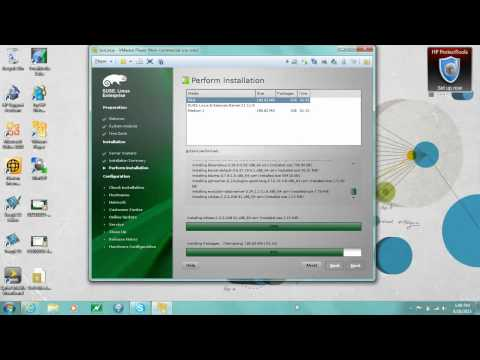 SUSE Linux Enterprise 11 Install and transfer files using WINSCP to VM
