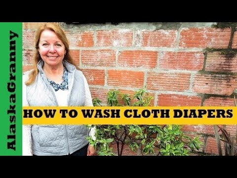 How to Wash Cloth Diapers Use Cloth Diapers for Your Baby