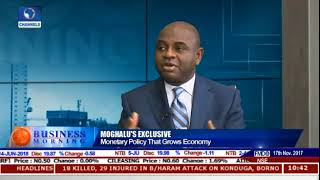 Prof Kingsley Moghalu with channels News