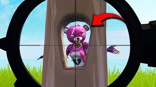 *1 IN 1 MILLION* FENCE SNIPE! - Fortnite Funny Fails and WTF Moments! #415