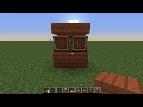 [Consoles] How to make a Closet in minecraft PS3/PS4/XBOX360/XBOX ONE