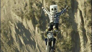 Freestyle Motocross Tricks & Stunts | Adventures with Marshmello