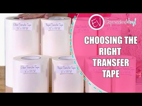 Choosing the Right Transfer Tape