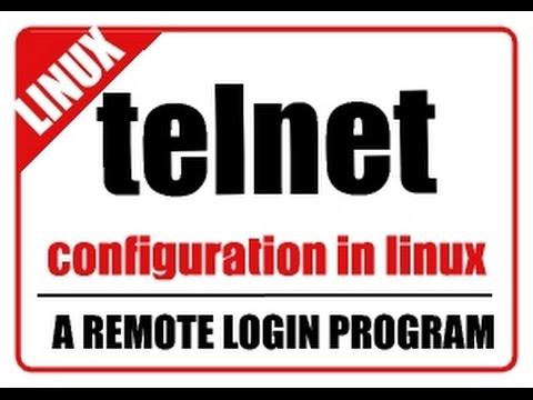 TELNET:telnet server configuration in linux rhel/centos