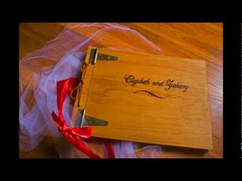 Unique Guest Book Ideas, Wedding Tree Photo Albums, Love Bird Guestbooks, and Scrapbooks