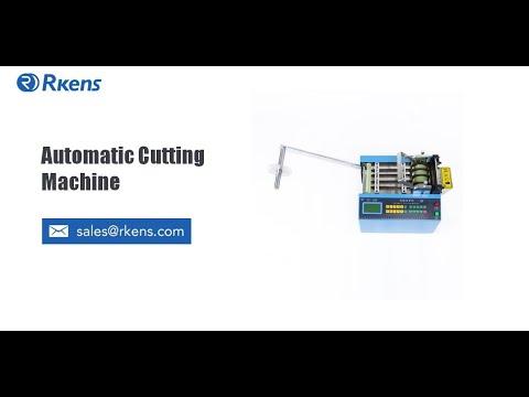Plastic PVC Tube Cutting Machine, Automatic Cutter For Flexible Tubing