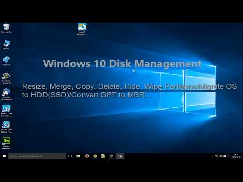 Free Windows 10 Disk Management Helps Fully Manage Partitions