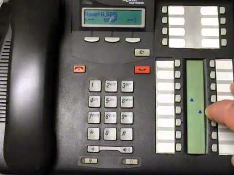 Assign Names to Line Buttons - Norstar Business Phone Systems Calgary