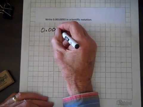 Introductory Algebra Scientific Notation