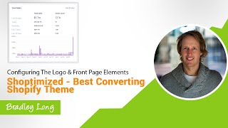 Configuring the logo and front page elements (Shoptimized - Best Converting Shopify Theme)