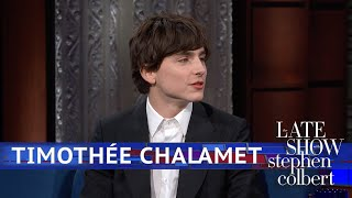 Timothée Chalamet Worked With
