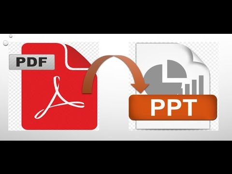PDF to PPT - Simple steps to convert PDF to PPT - Online