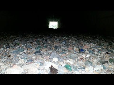 City Creek Treasure Hunt: Tunnel Full of Glass Part 1