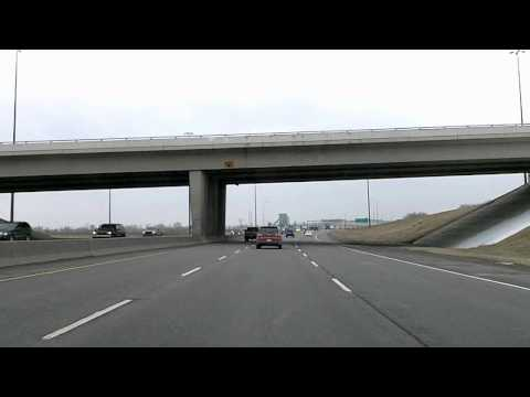 Time Lapse Drive: Calgary to Okotoks - YYC, Deerfoot Trail Drivelapse