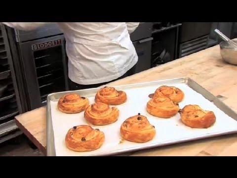 How to Make Danish Raisin Whirls : Pastries & Desserts