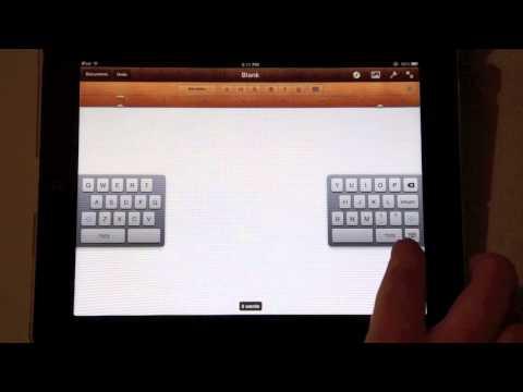 Simply Apple - iPad Onscreen Keyboard Tips