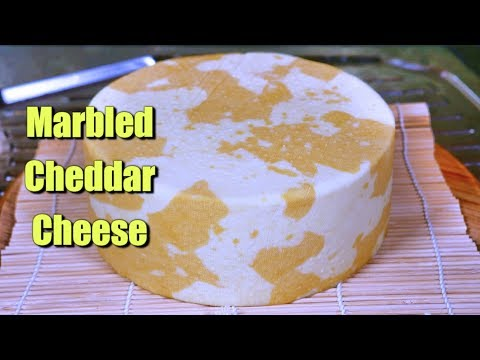 How to Make a Marbled Cheddar Cheese