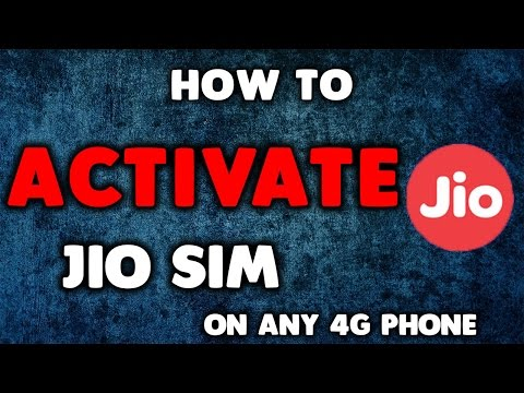 Live activation - How To Activate Reliance JIO SIM On Any 4G Phone  With Unlimited Data & Calls