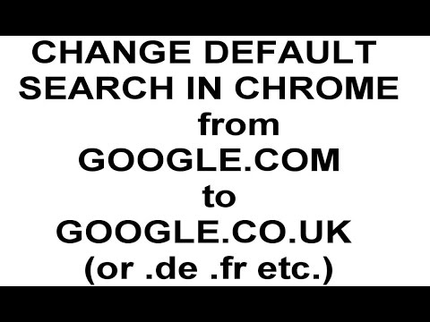 How to set Country level GOOGLE SEARCH as default in CHROME (HD)