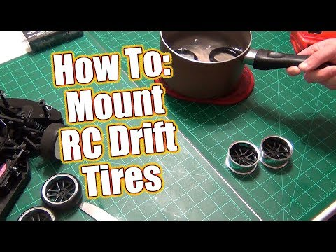 HOW TO: Mount RC Drift Tires! - Project Altered Apex Drift Car Build Update | RC Driver