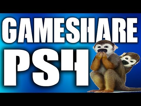 How to PS4 Gameshare - Game Share PS4 Tutorial EASY METHOD in 2018 will you get BANNED