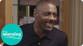Idris Elba Talks Star Trek, Luther And Those Possible James Bond Rumours   This Morning