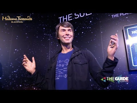 Brian Cox has landed at Madame Tussauds Blackpool | The Guide Liverpool