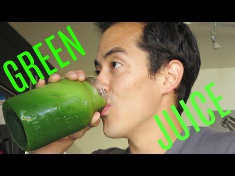 Green juicing for beginners - Green Juice tutorial w/ Benji Travis