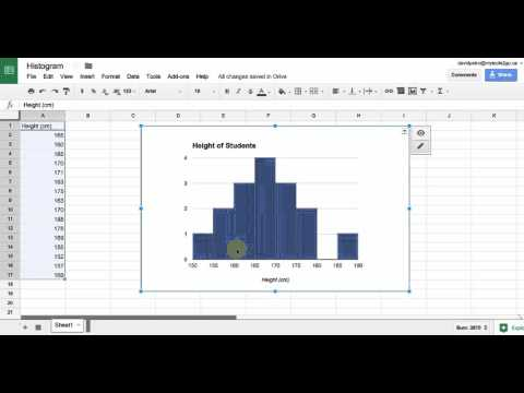 Create a Histogram with Google Sheets