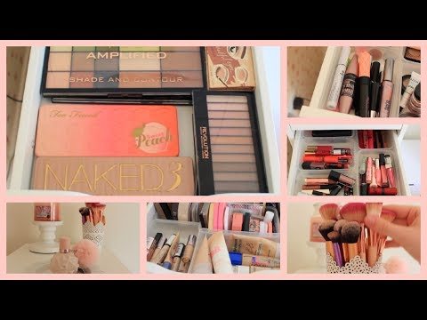 Makeup Collection & Storage Of A 14 Year Old | Floral Louisa