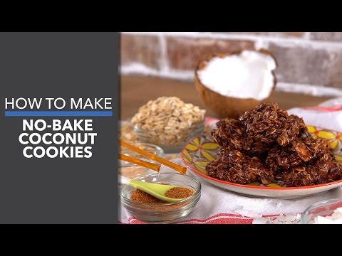 How to Make No-Bake Coconut Cookies