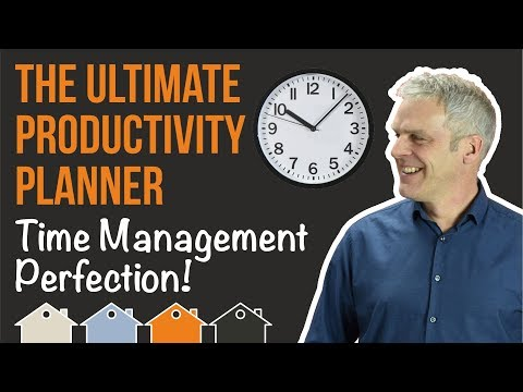 My Productivity Planner / Time Management Diary... To Help Property Investors Be More Productive