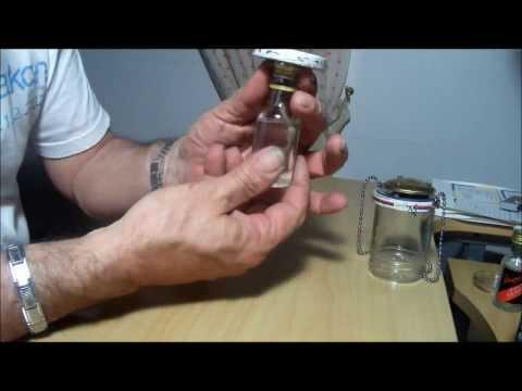 A SMALL DIY TENT LAMP