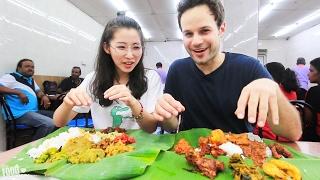 Malaysian Street Food Tour in Kuala Lumpur, Malaysia | HUGE  Chinese, Indian and Malay Food JOURNEY!
