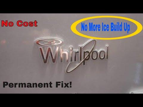 whirlpool bottom freezer leaking Free permanent fix