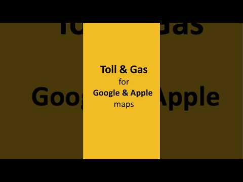 Toll Calculator: Google Maps with Tolls & Gas - How to Use | Tollguru